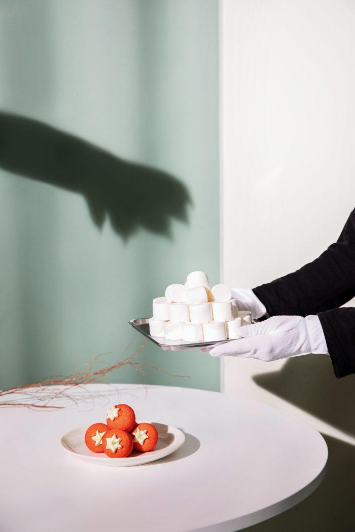(왼쪽부터) 위니비니 자이언트딸기모양머쉬멜로우, 클래식머쉬멜로우